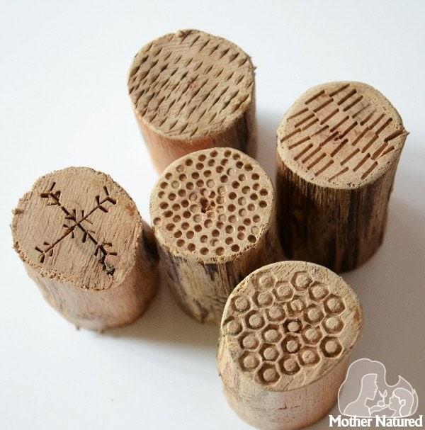 DIY wood stamps