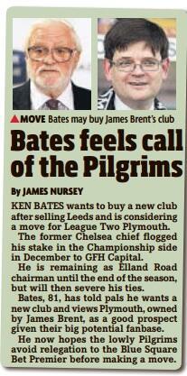 Ken Bates Plymouth Argyle
