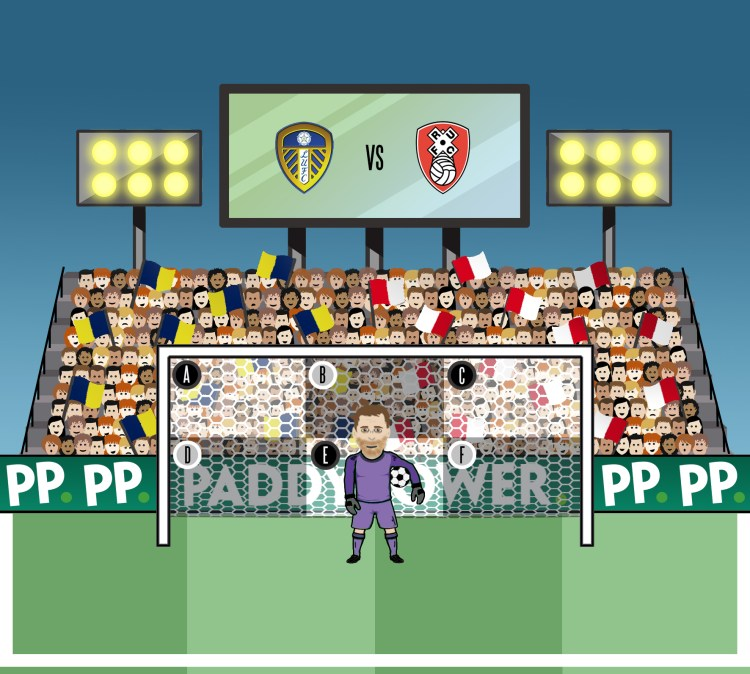 Lee Camp - Leeds vs Rotherham [204479]