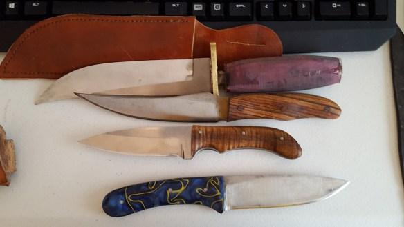 Knives and sheath