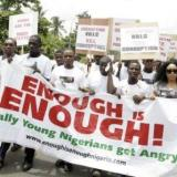 Nigerian youths protest