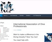 A new voice for diving professionals world-wide.