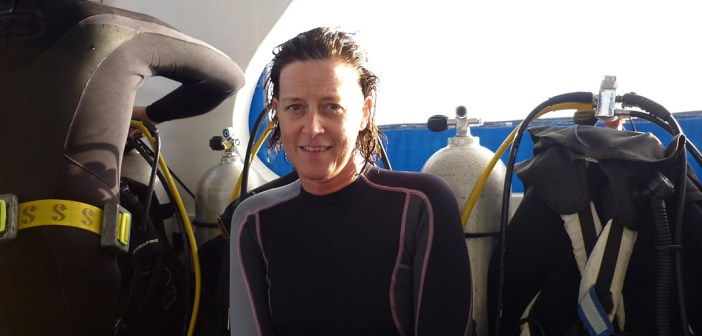 Meet Today's Featured Diver, Veerle Roelandt – Passionate Shark Advocate From Belgium