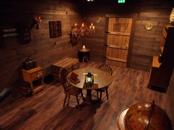 The Pirate Chamber - Side Angle