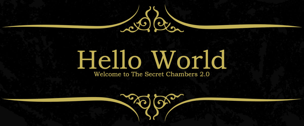 The Secret Chambers 2.0 is LIVE!