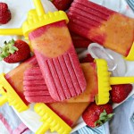 Strawberry Peach Mango Popsicles