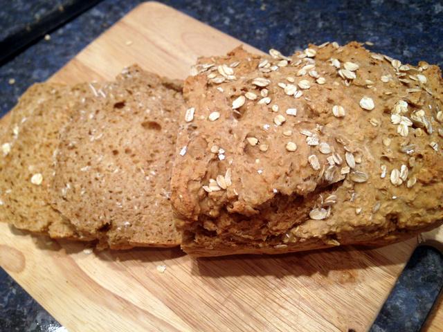Irish Brown Bread Recipe & Sweet Guinness Dip
