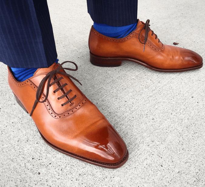 Carmina shoes courtesy of @derekpolson on Instagram