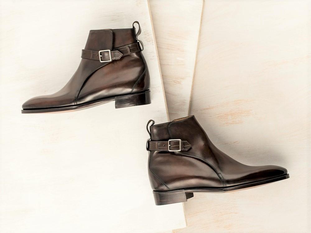 Gaziano girling new jodhpur boot model the shoe snob blog for New model boot