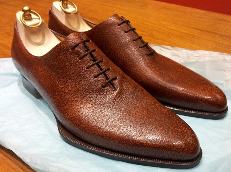 shoes of the week pigskin wholecuts by carreducker the