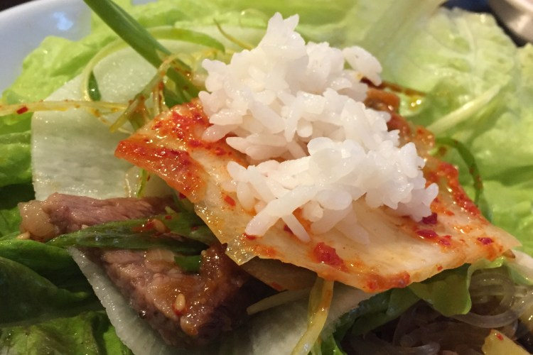 Korean BBQ Feasting at Seoul Garden