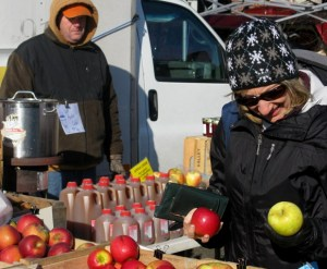 Winter markets open for business