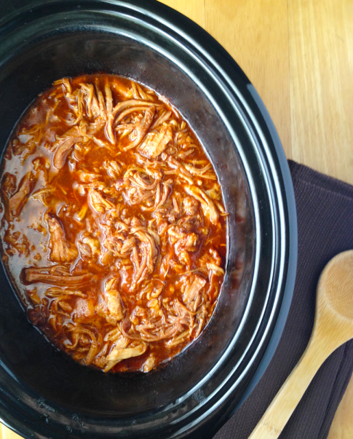 Crockpot Barbeque Pulled Pork / The Small Town Foodie