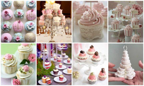 Miniature Cakes – Cupcakes Collage