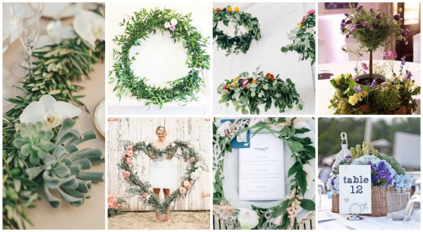 Table Wreaths