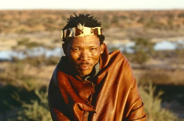 Bushman, South Africa (Photo by Hoberman Collection/UIG via Getty Images)