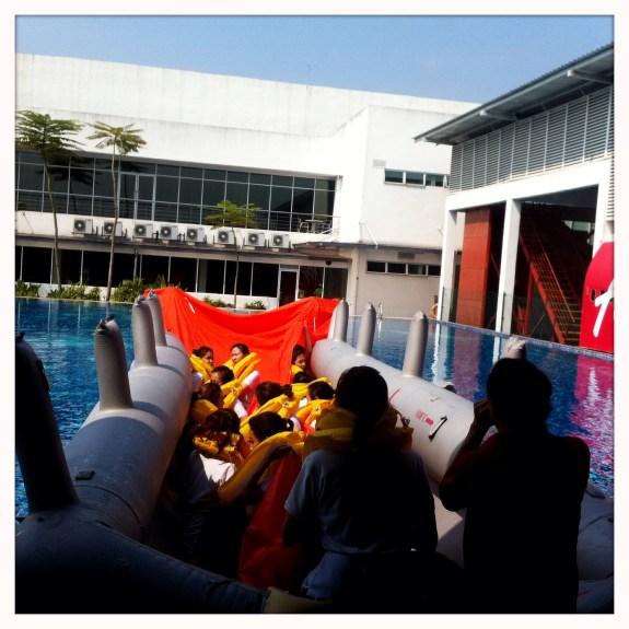 flight-attendant-airasia-swim