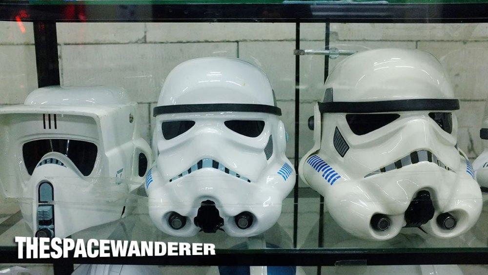 Troopers helmets