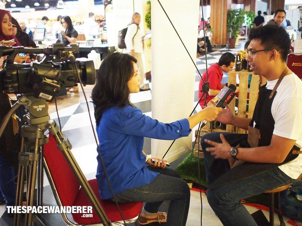 Wawancara oleh Net Tv