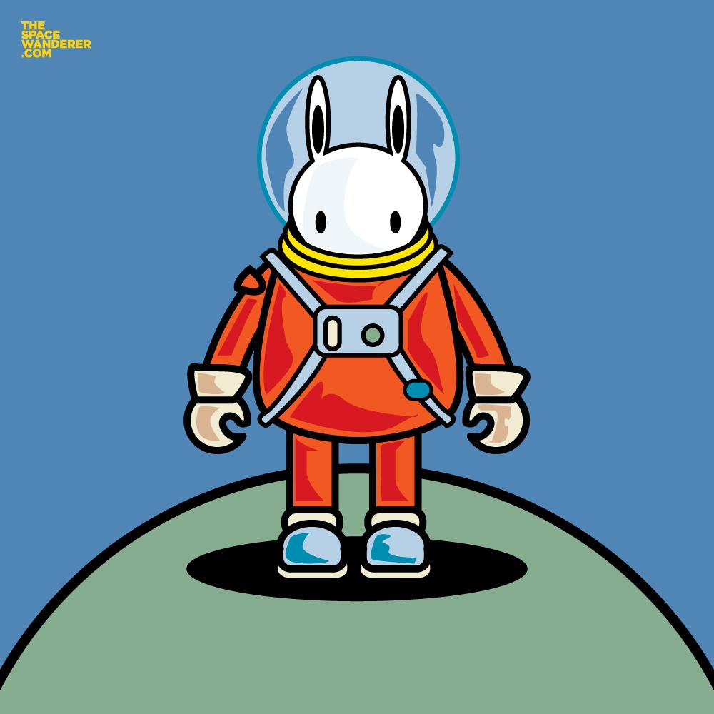 Laka the Lapin Cosmonaut