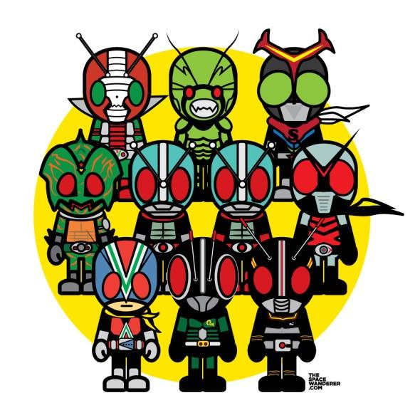 10 of Kamen Rider Showa