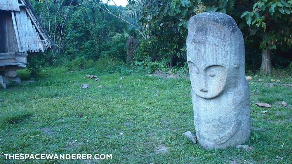 Megalith at Bada Valley