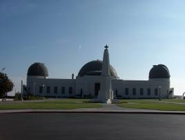 Griffith Observatory in Los Angeles, CA -- one of the worlds best-known public observatories.