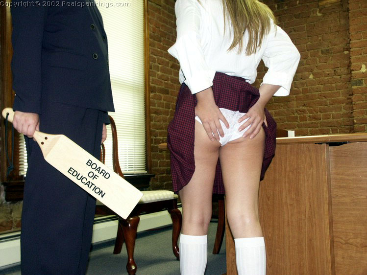 rubbing spanked bare bottoms
