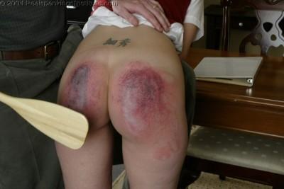 3d girl spanking art