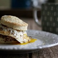 It's Football Season Friday: Boudin Breakfast Sandwiches