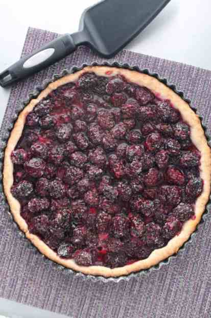 Blackberry Tart 1