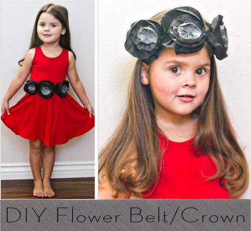 flower crown belt