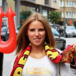 Axelle Despiegelaere Gets Modeling Deal, World Cup Fan Joins L'Oreal