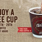 McDonald's Free Coffee Event To Last Two Weeks