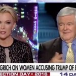 Megyn Kelly And ‪Newt Gingrich‬‬ Go At It Over Donald Trump