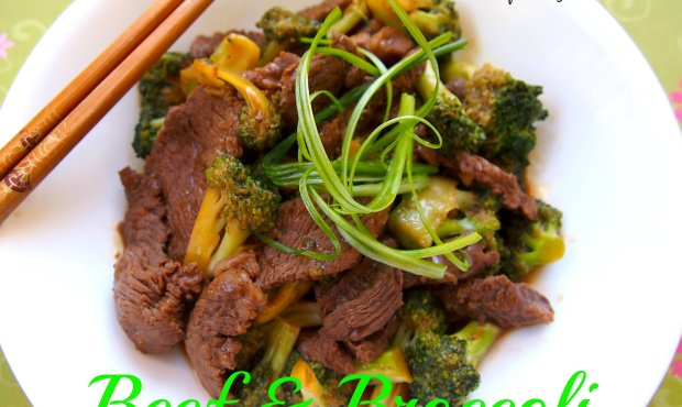 Easy Beef and Broccoli Chinese takeout at home