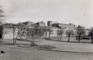 Foresthall Hospital Glasgow where Stanley was first treated.
