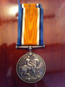 John Bainbridge WW1 Medal