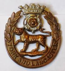 York & Lancaster Regimental Badge