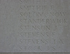 Loos Memorial 2014 (Panel 99-101)