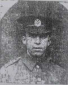 Pte Joe Butler (Buxton Advertiser)