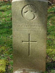 Henry E Creswell 1920, St Peters Churchyard 2014