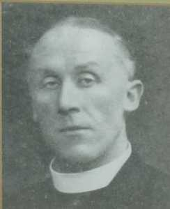 Edward Law Harkness Vicar at St Peters 1916-1923