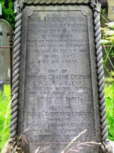 Grave at St Peters Church