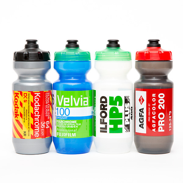 Stuff to buy - 35mm film canister bottles, Bikenomics, and The Derailleur Project