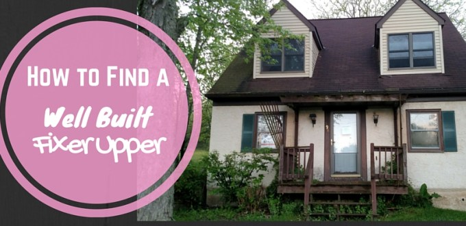 how to find a fixer upper
