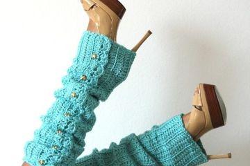 Love the teel leg warmers with heels