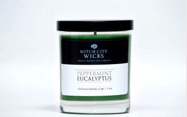 Witch City Wicks, Soy Candle, $18