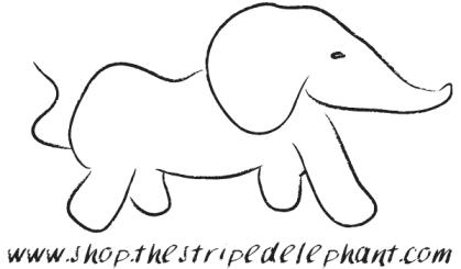 Final Elephant Logo w:Text!