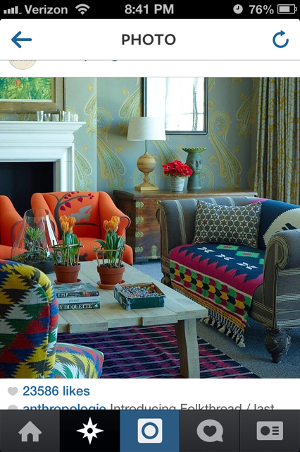 Gorgeous room from Anthropologie!